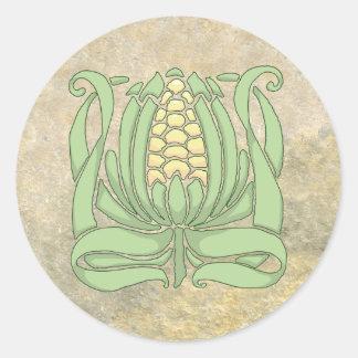 Lughnasadh Sweet Corn ラウンドシール