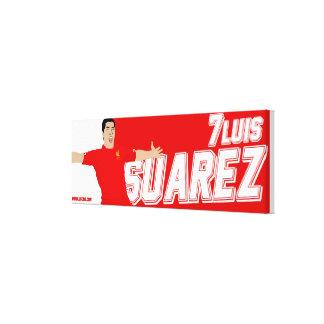Luisスアレスのキャンバスのプリント キャンバスプリント