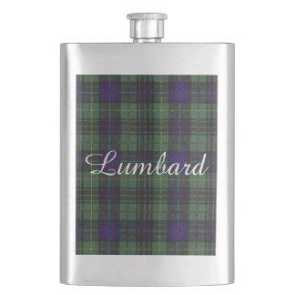 Lumbardの一族の格子縞のスコットランドのキルトのタータンチェック フラスク