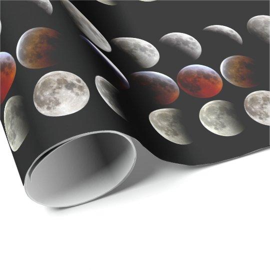 Lunar eclipse ラッピングペーパー