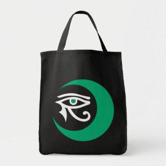 LunaSeesのロゴのバッグ(暗いバッグのヒスイか白) トートバッグ