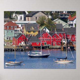 Lunenberg、ノバスコシア、カナダ。 3 ポスター