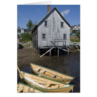 Lunenburg、ノバスコシア、カナダ、小舟の建築者 カード