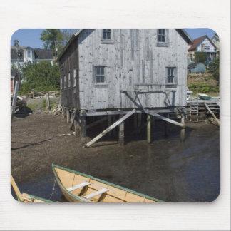 Lunenburg、ノバスコシア、カナダ、小舟の建築者 マウスパッド