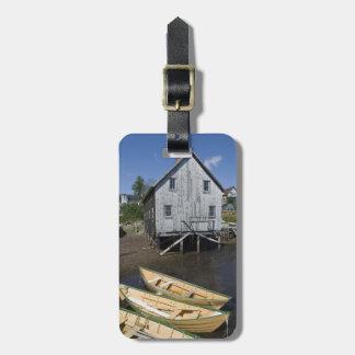 Lunenburg、ノバスコシア、カナダ、小舟の建築者 ラゲッジタグ