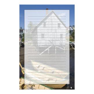 Lunenburg、ノバスコシア、カナダ、小舟の建築者 便箋