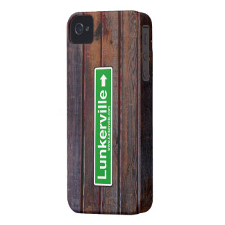 Lunkervilleのブラックベリーの箱 Case-Mate iPhone 4 ケース