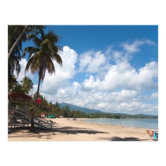 Luquilloのビーチプエルトリコ チラシ
