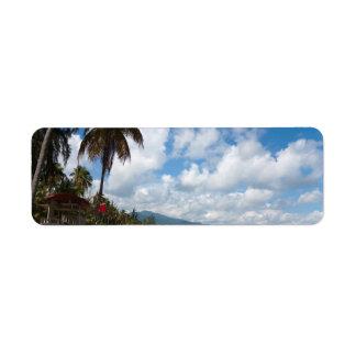 Luquilloのビーチプエルトリコ ラベル