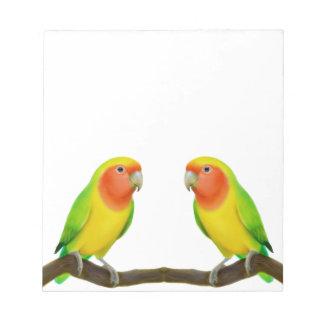 Lutinoの仲の良い恋人同士愛メモ帳 ノートパッド