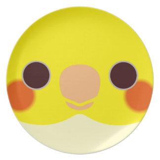 Lutino|Cockatiel 皿