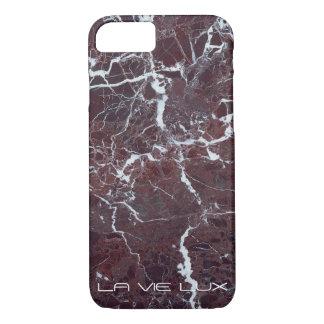 LVL -赤い大理石 iPhone 7ケース