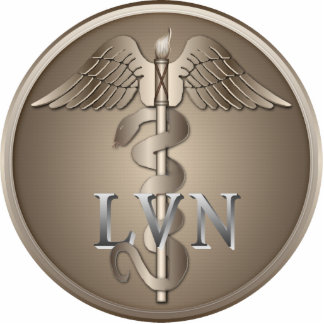 LVNのケリュケイオン 写真彫刻(台付き)