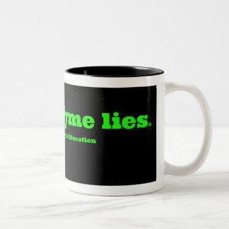 Lymeのうそのマグをストップ ツートーンマグカップ