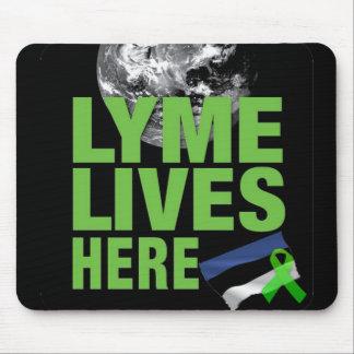 Lymeはエストニアのマウスパッドにここに住んでいます マウスパッド