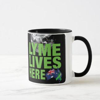 Lymeはオーストラリアのマグにここに住んでいます マグカップ