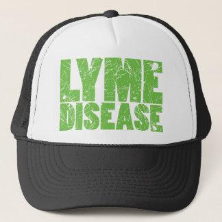 """Lymeはカチカチとの""""ライム病""""のデザインを緑化します キャップ"""
