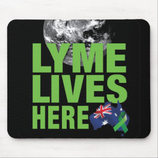 Lymeはマウスパッドオーストラリアのためのここに住んでいます マウスパッド