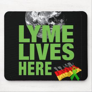 Lymeはマウスパッドドイツここに住んでいます マウスパッド