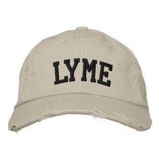 Lymeは帽子を刺繍しました 刺繍入りキャップ