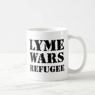 Lymeは避難者戦います コーヒーマグカップ