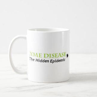 lyme隠された伝染病、lyme隠された伝染病 コーヒーマグカップ