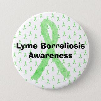 Lyme Borreliosisの認識度ボタン 缶バッジ