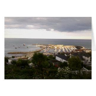 Lyme Regisの写真カード2 グリーティングカード