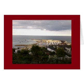 Lyme Regisの写真カード グリーティングカード