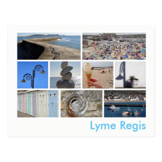 Lyme Regisの数々のイメージ ポストカード