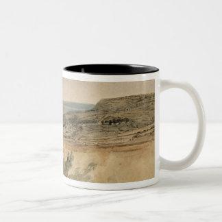 Lyme Regis、ドーセット、c.1797 (w/c texの鉛筆に ツートーンマグカップ