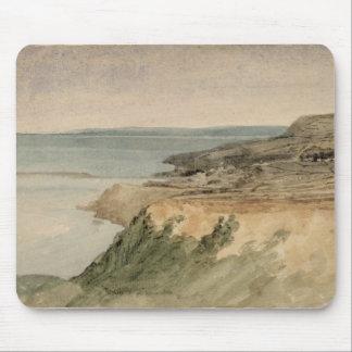 Lyme Regis、ドーセット、c.1797 (w/c texの鉛筆に マウスパッド