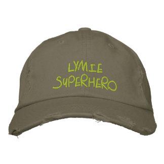Lymieのスーパーヒーロー 刺繍入りキャップ