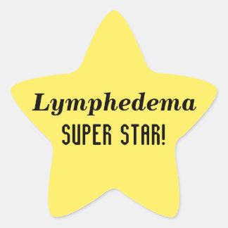 Lymphedemaによってすごい星のステッカー 星シール