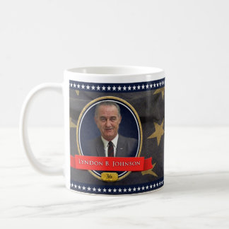 Lyndon B.ジョンソンHistoricalのマグ コーヒーマグカップ