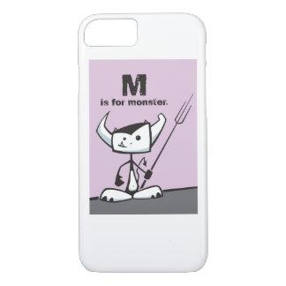 Mはモンスターのためです iPhone 8/7ケース