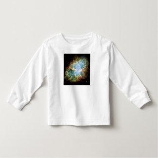 M1蟹星雲(NGC 1952年)は天文学の衣服をからかいます トドラーTシャツ