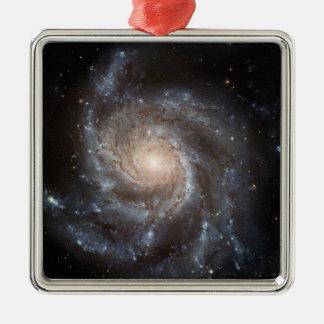 M101風車の渦状銀河NASA メタルオーナメント