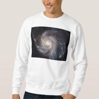 M101風車の銀河系(NGC 4547) スウェットシャツ