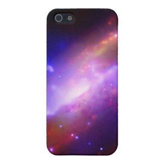 M106渦状銀河の放出NASA iPhone SE/5/5sケース