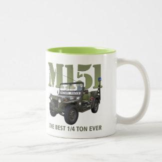 M151コーヒーカップ ツートーンマグカップ