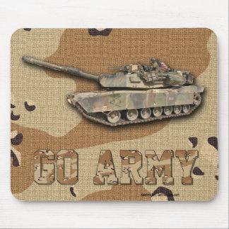 M1 - Abramsはマウスパッド軍隊の砂漠のカムフラージュの行きます マウスパッド