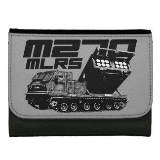 M270 MLRSの中型の革財布