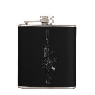 M4 SOPMODの黒 フラスク