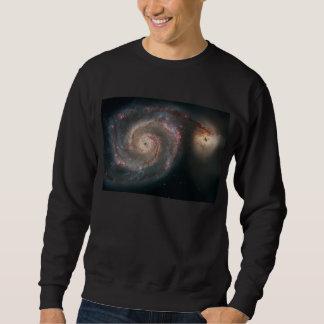 M51渦の銀河系 スウェットシャツ