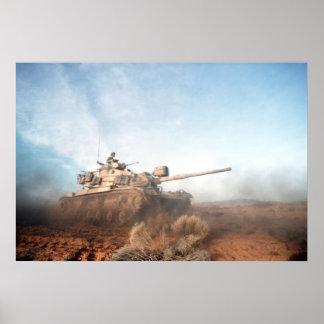 M60 Pattonタンク ポスター