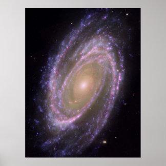 M81銀河系 ポスター