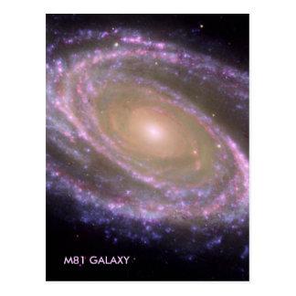 M81銀河系 ポストカード