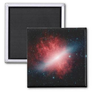 M82のSupergalacticの風が付いている銀河系 マグネット
