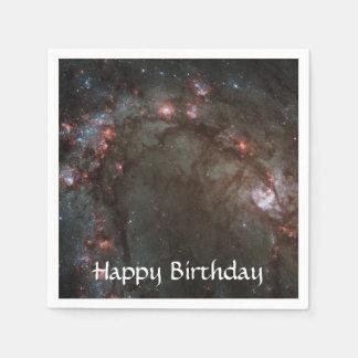 M83渦状銀河NASA スタンダードカクテルナプキン
